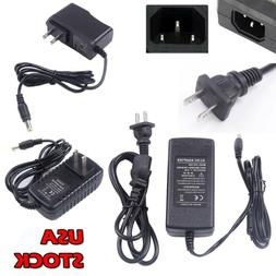 AC100-240V To DC 12V 1/2/3/5/6/8A US Power Supply Adapter Tr