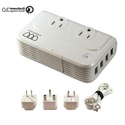Travel Adapter and Converter: Universal Travel Adapter Step