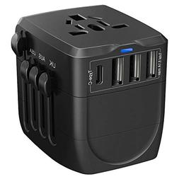 Travel Adapter, 2400W International Power Adapter, Universal