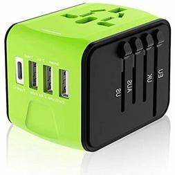 Travel Plug Adapter, Universal Travel Adapter, Travel Power