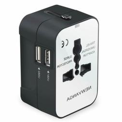 Travel Adapter, Worldwide All in One Universal Travel Adapte