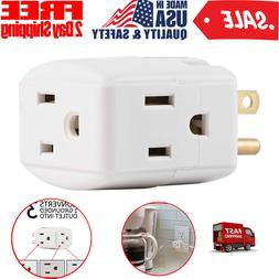 Adapter Wall Socket Splitter Divider Cube Electrical Multi P