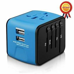 HAOZI All-in-one International Power Adapter wUniversal Trav