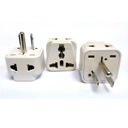 CKITZE BA-5-3P Grounded Universal 2-in-1 Type B USA Plug Ada