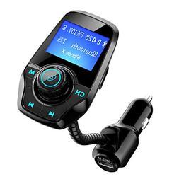 Bluetooth FM Transmitter for Car, TopElek Wireless Radio Tra