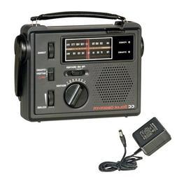 C. Crane Co COBS CC Solar Observer Wind Up Radio with AM FM