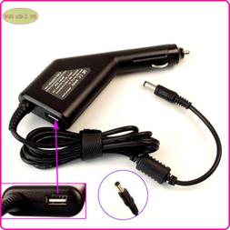 Car DC Power Adapter Charger + USB Port for ASUS U80V UL20 U