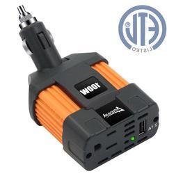 Car Inverter Converter Adapter 12V To 110V Plug Power Outlet