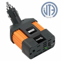 Car Inverter Converter Adapter 12V To 110V Plug Power Outlet