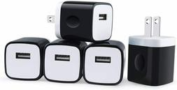 Cell Phone Fast Charger US Wall Plug Travel 5V USB Port Powe