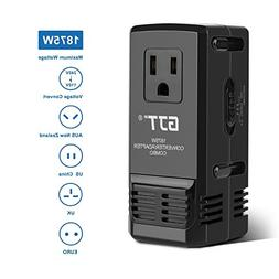 GJT 1875W Travel Converter Adapter Combo International Power