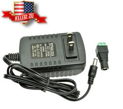 DC 12V 2A amp AC Adapter Charger Power Supply for LED Strip