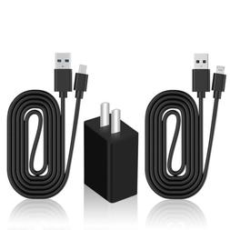 Fast Charging Power Adapter Charger Micro USB Cable 3ft F Sa