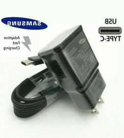 Samsung Galaxy Note10 S8 S9 S10 Wall Charger Type-C Cable Po