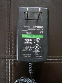 Sony ~Genuine AC Power Adapter Original 6V 1.3A  AC-6013 for