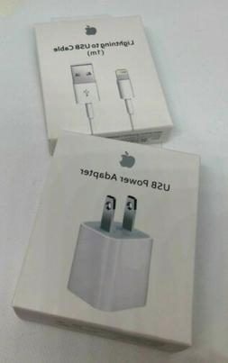 Genuine Apple Charger 5W USB Power Adapter 1m 2m Lightning C