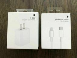Original Apple 18W Charger USB-C Power Adapter iPad Air iPho