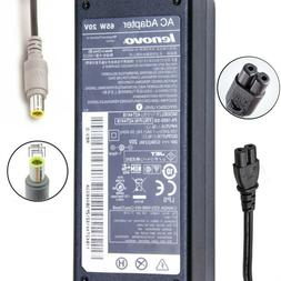Genuine Lenovo ThinkPad Laptop AC Charger Power Adapter 65W