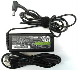 Genuine Sony Vaio Laptop Charger AC Power Adapter VGP-AC19V4