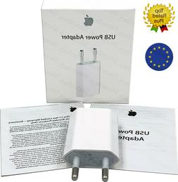 Genuine Wall charger EU Power Adapter Original USB for Apple