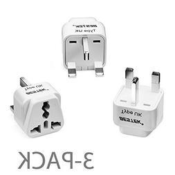 BESTEK Grounded Universal Plug Adapter Travel Plug Kit for U
