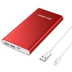 20000mAh Slim Power Bank Dual USB Portable External Battery