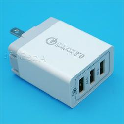 Intelligent QC 3.0 Fast Charging Power Adapter for Samsung G