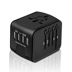International Power Adapter, HAOZI All-in-one Universal Trav