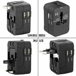 International Travel Power Adapter Kit,Wacye Universal World
