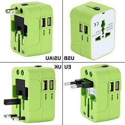 International Travel Adapter,Wacye Universal World Power Ada