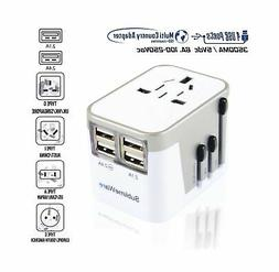 Power Plug Adapter - International Travel - w/USB Ports Work