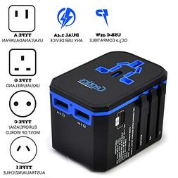 BESTEK International Power Adapter, 220V to 110V Step Down T