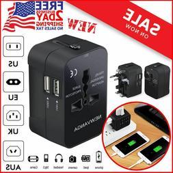 International Travel Adapter Universal Power Outlet Plug EU
