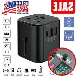 Travel Adapter Universal International Power European Outlet