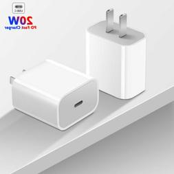 For iPhone 12 Pro/11/12 Pro Max/XR/iPad Fast Charger 20W PD