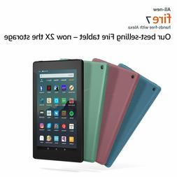 "Amazon Kindle Fire 7 Tablet Alexa 7"" 8 GB - Black,Red,Blue,Y"