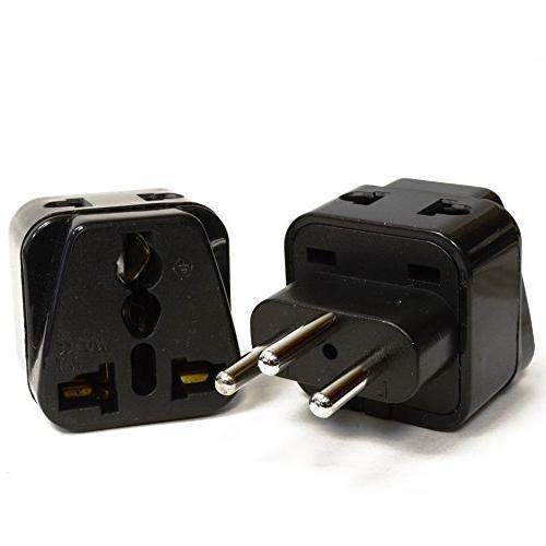 OREI 2 USA to Switzerland Adapter Plug - Pack,