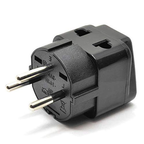 OREI in USA to Adapter Plug Pack, Black