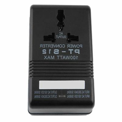 100w power converter adapter ac 110v 120v