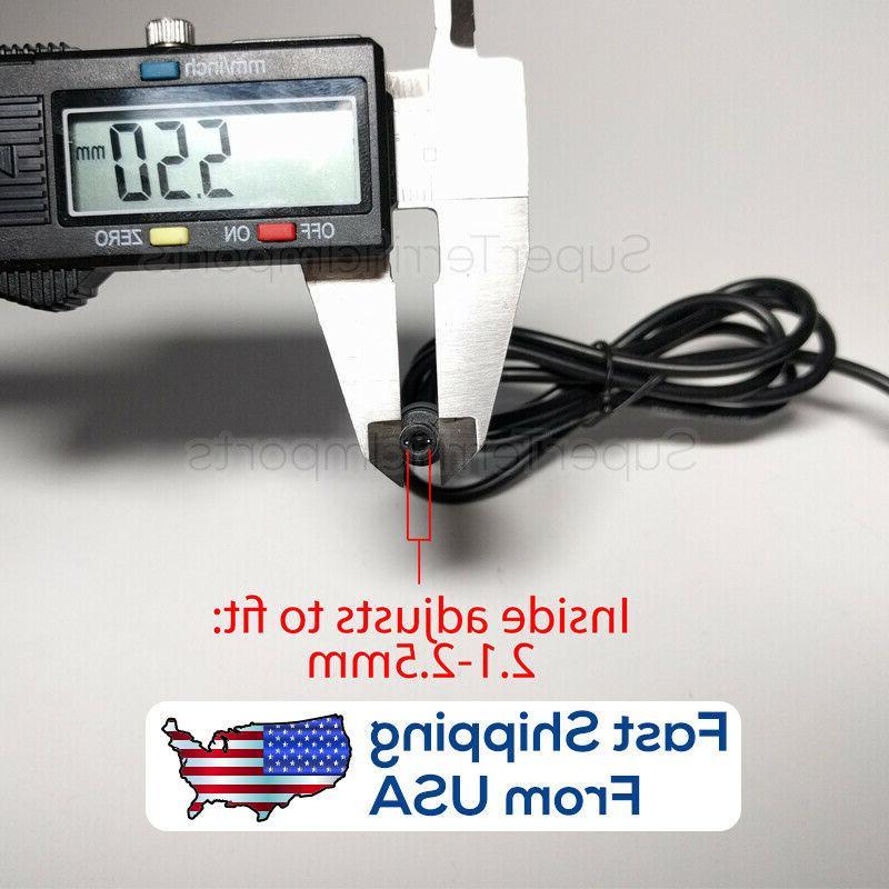 12V 1A Power Adapter 5.5mm 2.1-2.5mm Supply