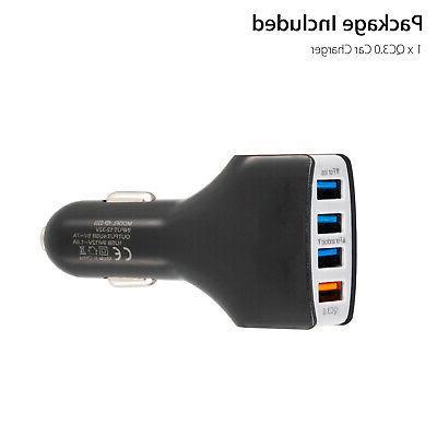 12V Socket Fast 4-USB