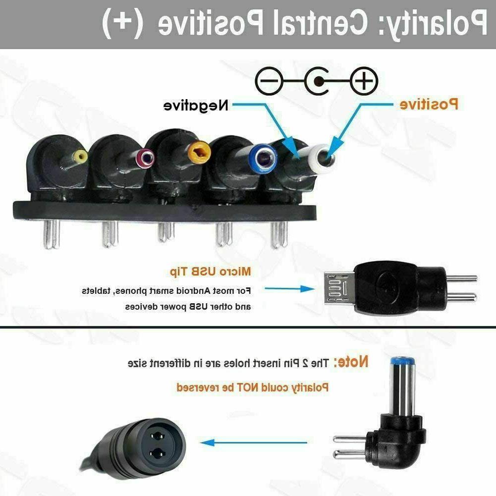 12W Adapter Power Wall Charger 5V 6V 7.5V
