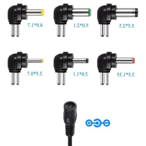 12W Universal Adjustable Power 6V 9V 12V Power Supply Plug Charger