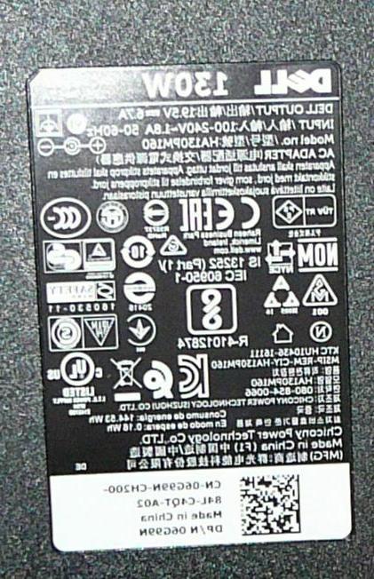 DELL FA130PE1-00 HA130PM160 Laptop Inspiron