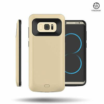 External Charger Battery Power Bank Back For Galaxy S8 S8+