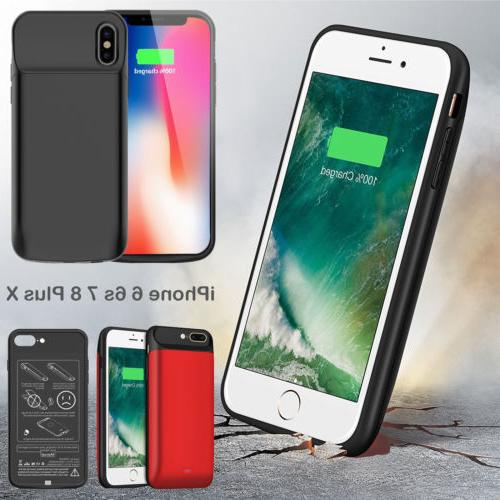 1xMagent Power Bank Pack Charger Battery Case Adapter For iP
