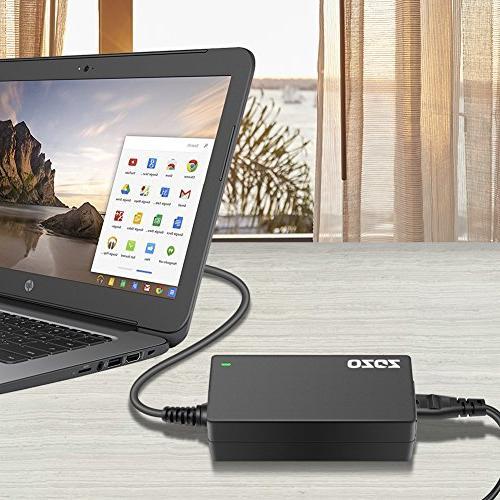 ZOZO 19.5V 2.31A AC Laptop Power Charger Hp Stream 11 13 Elitebook Folio 1040 G1; Chromebook Spectre X2; Touchsmart G3 G2; Hp Spectre X360