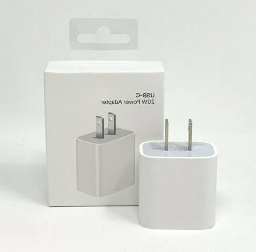 20w For Charging iPhone iPad Charger