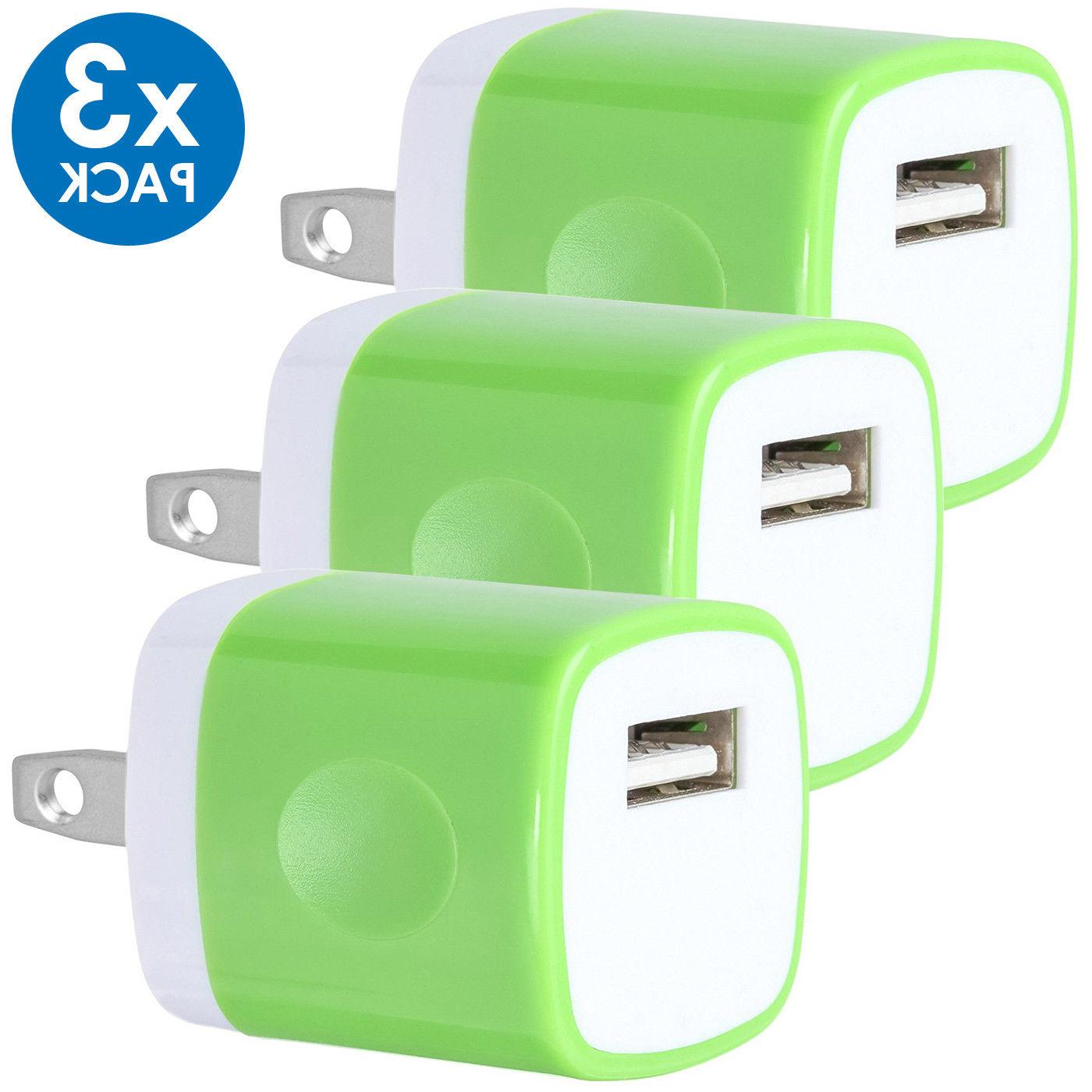 3-PACK Wall AC Power Adapter US Plug FOR 8 X LG