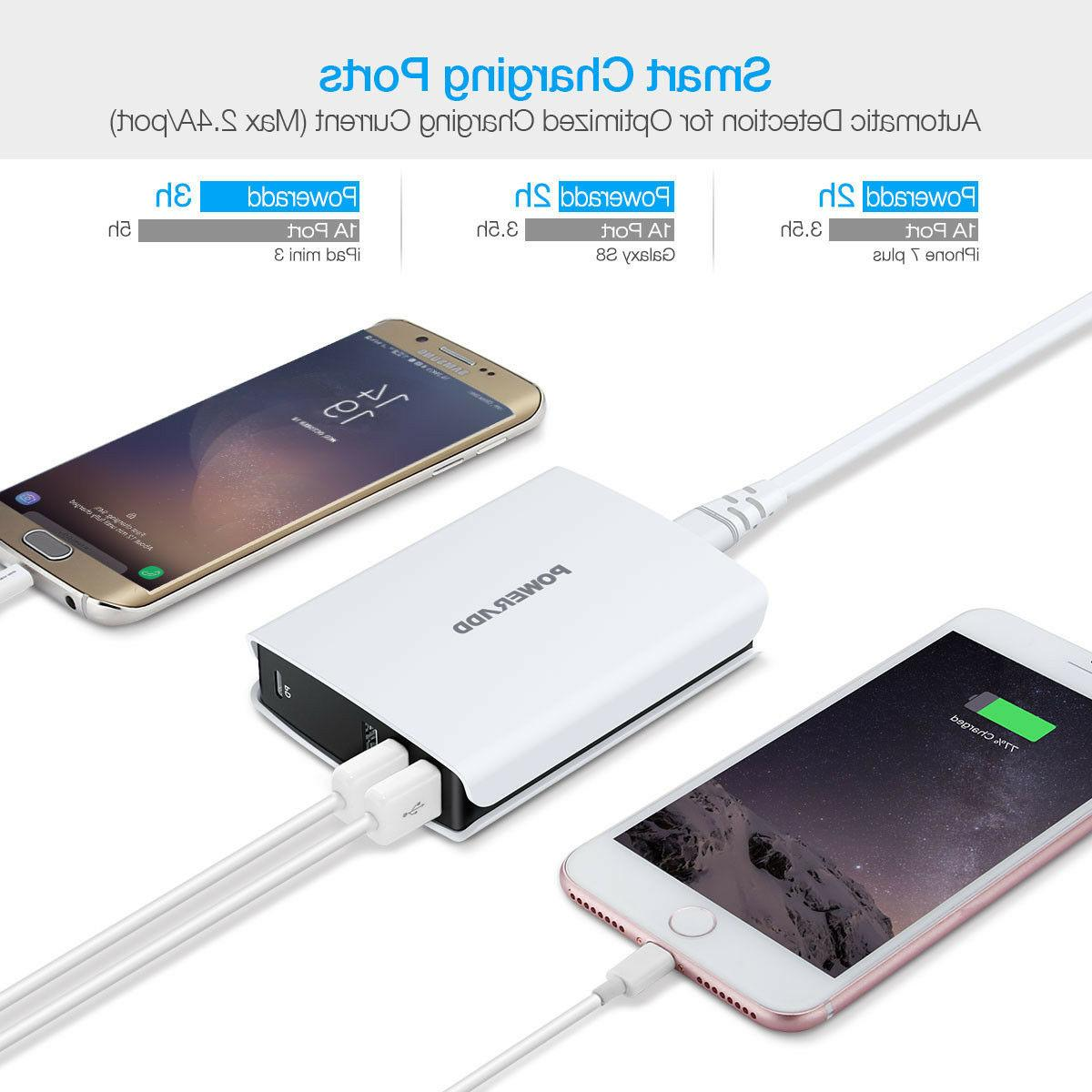 30W C C Travel Charger Charging AC Adapter